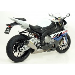 Terminale Works Approved in titanio con fondello carby BMW S 1000 RR 2009 2011