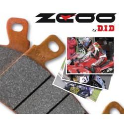 PASTICCHE anteriori ZCOO T003 per ZX 6R 03/06 e ZX 10R 04/07 e GSX-R 750 04/05 e GRX-R 1000 03
