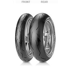 PIRELLI DIABLO SUPERCORSA SP ANT 120/70-17 + POST 180/55 -17