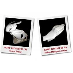 CARENA COMPLETA IN VETRORESINA per SUZUKI GSXR 1000 09/12 stradale e racing