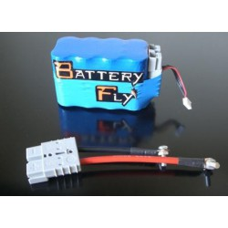 BATTERIA AL LITIO ULTRALEGGERA RACING BATTERYFLY 13,2V 4,6AH 8 celle
