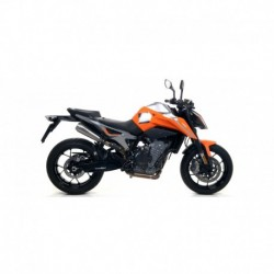 "Terminale Race-Tech alluminio Dark"" con fondello carby"" KTM DUKE 790 2018 2020"