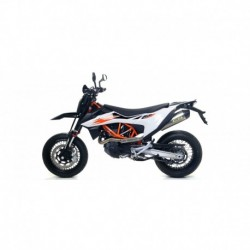 "Terminale Race-Tech Approved aluminium Dark"""" KTM 690 SMC R 2019 2020"
