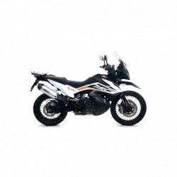 "Terminale Race-Tech alluminio Dark"" con fondello carby"" KTM 790 Adventure 2019 2020"