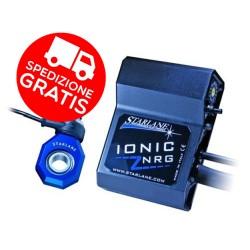 CAMBIO ELETTRONICO IONIC STARLANE con sensore cambio nuovissimo NRG! Per  TRIUMPH Speed Triple dal 2011 + OMAGGIO