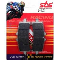 PASTICCHE anteriori SBS DUAL SINTER per KTM Super Duke 1290 R 14/20 e RC8 08/15 e altri