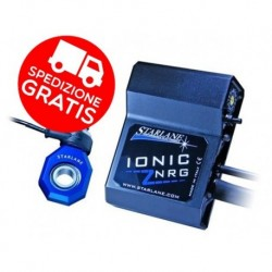 CAMBIO ELETTRONICO IONIC STARLANE sensore NRG per Kawasaki Z 750 R ABS 2011-2013 con OMAGGIO