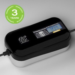 CARICABATTERIE BC BATTERY BRAVO 1500 anche MANTENITORE DI CARICA con display!