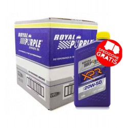 ROYAL PURPLE XPR Racing Oil 20W50 CARTONE DA 12 CONFEZIONI