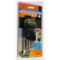 SET BRUCOLE 9 PEZZI da 1mm a 10mm per uso professionale