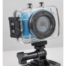 MICROCAMERA HD 720P con display touch COMPLETA DI ATTACCHI