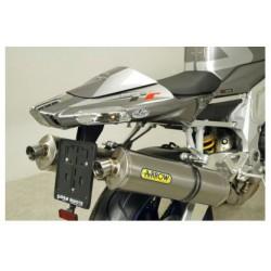 TERMINALI RACE TECH ALLUMINIO FONDELLO INOX  ARROW per APRILIA TUONO 1000 R / FACTORY 06/10