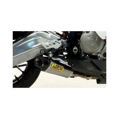 IMPIANTO COMPLETO ARROW COMPETITION EVO TITANIO COLLETTORI INOX per BMW S1000RR 09/14 e HP4 replica Superbike