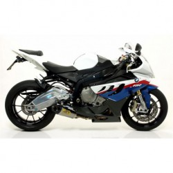 IMPIANTO COMPLETO ARROW COMPETITION EVO 2013 TITANIO COLLETTORI TITANIO per BMW S1000RR 09/13 e HP4 replica Superbike