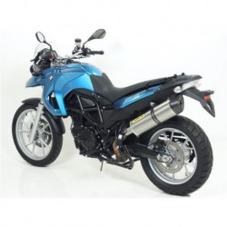 TERMINALE ARROW MAXI RACE TECH ALLUMINIO FONDELLO CARBY per BMW F 650 GS / 800 GS 08/16 OMOLOGATI