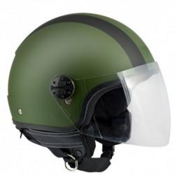 CASCO JET CGM OREGON verde militare