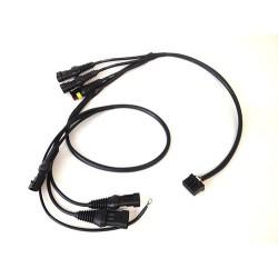 CABLAGGIO PLUG&PLAY per cruscotto Chrome I2M per Honda CBR 600 07-17