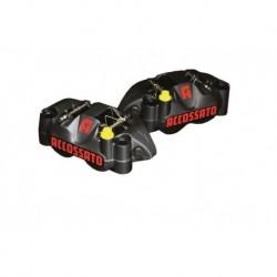 Pinza radiali Accossato Interasse 108 mm Pistoni in Alluminio Pastiglie incluse