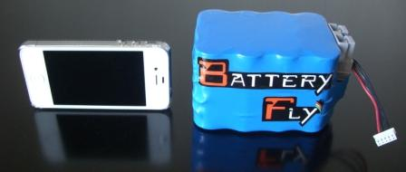 batteryfly e iphone